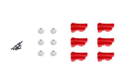 Red Rotatable Clamp Kit pre dron DJI MATRICE 600 - 1