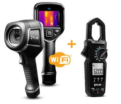 Termokamera FLIR E6xt pre priemysel a stavebníctvo - 1