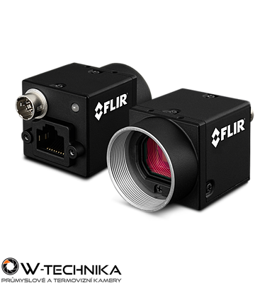 Priemyselná kamera Flir-PointGrey Blackfly 5,0 MP Color/Mono GigE PoE - 1