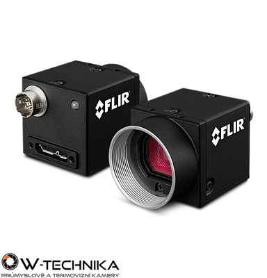 Priemyselná kamera Flir-PointGrey Blackfly 1.3 MP Color/Mono USB3 Vision - 1