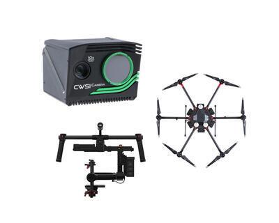 Zostava: CWSI kamera & DJI M600 Pro & DJI RONIN-MX - 1