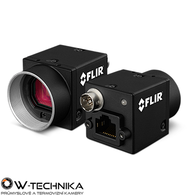 Priemyselná kamera Flir-PointGrey Flea3 0.8 MP Color/Mono GigE Vision - 1