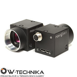 Priemyselná kamera Flir-PointGrey Flea3 12 MP Color USB3 Vision - 1