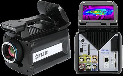 Vysokorýchlostná termokamera FLIR X6800sc MWIR pre vedu a vývoj