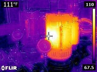 Termokamera FLIR E4 pre priemysel a stavebníctvo - 2