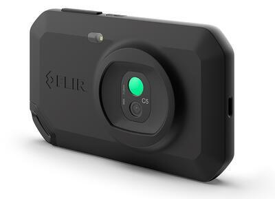 Malá a ľahká termokamera FLIR C5 - 2