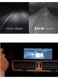 Termokamera FLIR PathFindIR II pre automobily - 2