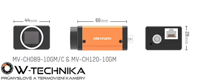 Kamera Hikvision GigE Area Scan MV-CH089-10GC - 2