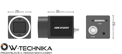 Kamera USB3.0 Area Scan MV-CA003-21UC - 2