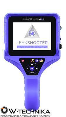 Leakshooter LKS1000 akustická kamera pre detekciu úniku plynov - 2