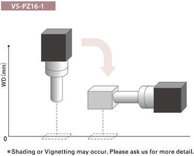 Objektív VS Technology VS-MC pevný alebo nastaviteľný zoom - 2