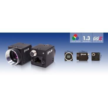 Priemyselná kamera Flir-PointGrey Flea3 1.3 MP Color/Mono GigE Vision - 2