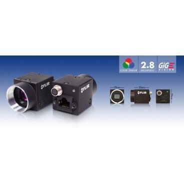 Priemyselná kamera Flir-PointGrey Flea3 2.8 MP Color/Mono GigE Vision - 2