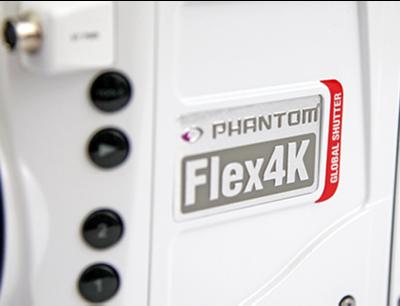 Vysokorýchlostná kamera Phantom Flex4K GS - 2