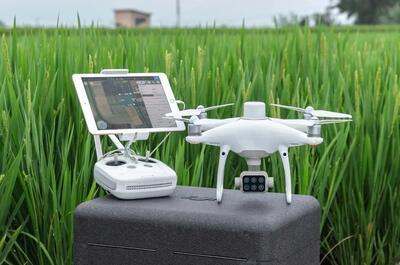 DJI P4 Multispectral Dron na vyhodnocovanie NDVI a ďalších indexov - 2