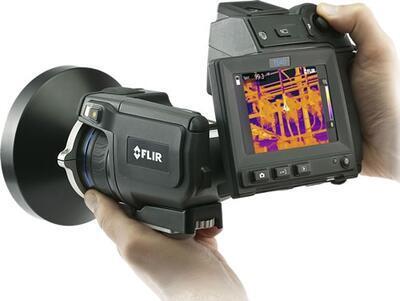 Termokamera FLIR T640 na prediktívnu údržbu a pre stavebníctvo - 2