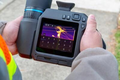 Termokamera FLIR T840 pre priemysel a stavebníctvo - 2