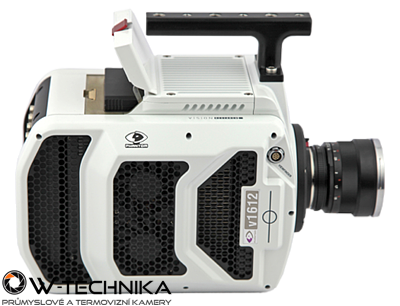 Vysokorýchlostná kamera Phantom v2012 - 2