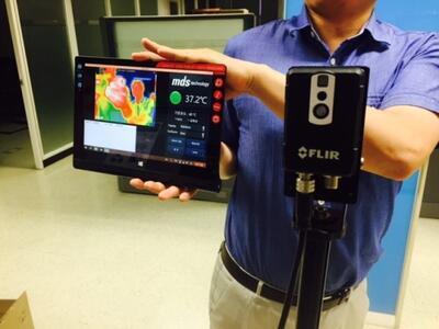 Malá inteligentná termokamera FLIR AX8 - 3