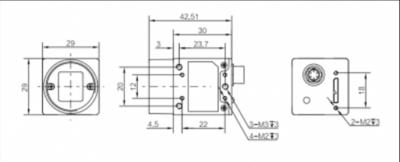 Kamera Hikvision USB3.0 Area Scan MV-CA050-20UM - 3