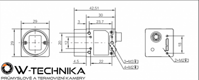 Kamera USB3.0 Area Scan MV-CA050-20UC - 3