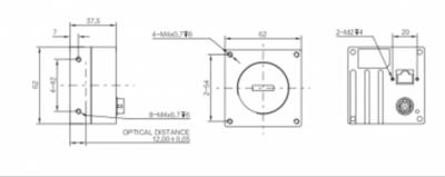 Kamera Line Scan MV-CL020-41GC - 3
