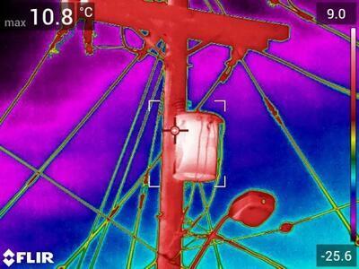 Termokamera FLIR T840 pre priemysel a stavebníctvo - 3