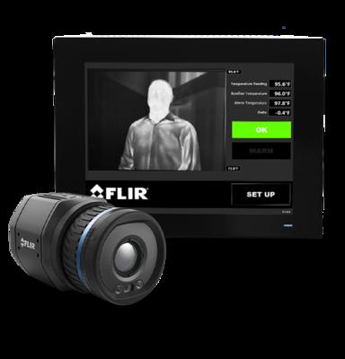 Termokamera FLIR A500-EST na screening horúčkovitých stavov - 3