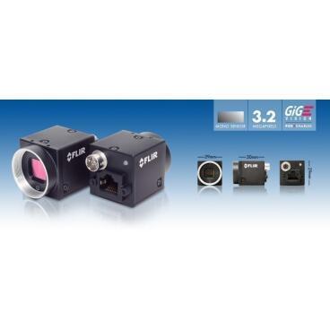 Priemyselná kamera Flir-PointGrey Blackfly 3,2 MP Color/Mono GigE PoE - 3