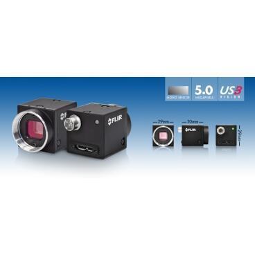 Priemyselná kamera Flir-PointGrey Blackfly 5.0 MP Color/Mono USB3 Vision - 3