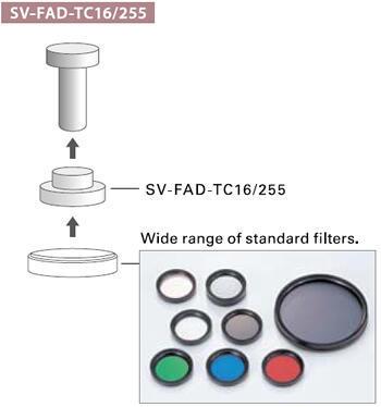 Objektív VS Technology VS-MC pevný alebo nastaviteľný zoom - 3