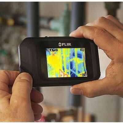 Malá a ľahká termokamera FLIR C3 - 3