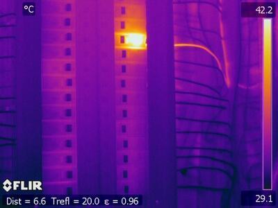Termokamera FLIR T640bx pro stavebnictví - 3