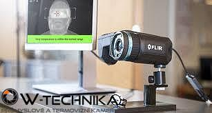 Termokamera FLIR T560-EST na screening horúčkovitých stavov - 4