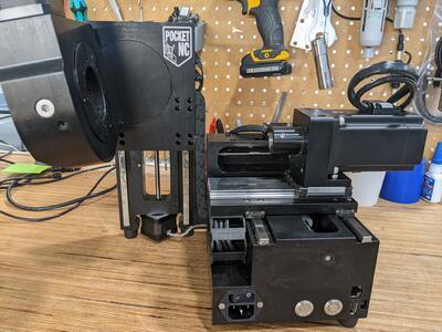 CNC frézka Pocket NC V2-10 - 5