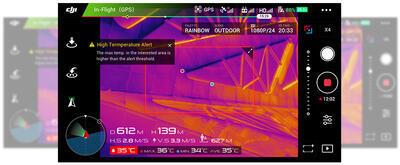 Termokamera pre drony DJI ZENMUSE XT - 5