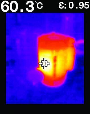 Vizuálny infračervený teplomer FLIR TG267 - 6