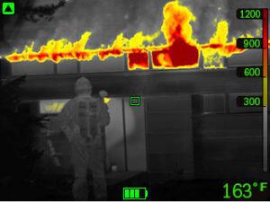 Termokamera FLIR K45 pre hasičov - 7