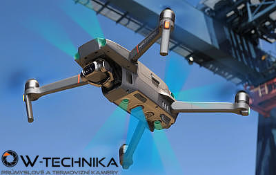 Kombo dron s termokamerou pre poľovníkov a koscov - 7