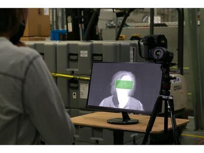 Termokamera FLIR T540-EST na screening horúčkovitých stavov - 7